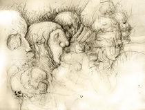 Bleistiftzeichnung von Bernhard Kosten