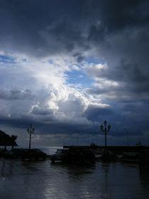 Wolkentheater über Lipari