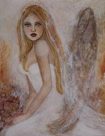 Engel mit Schleier von Emilia Burglechner