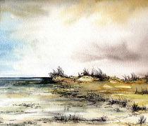 Strand in pastell von Isabel Vogel