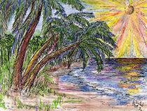 Bunte Palmenwelt von Isabel Vogel