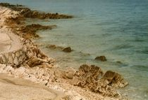 steine am strand von Isabel Vogel
