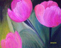 3Tulpen by Margrit Editha Lobien