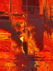 Burning Window by Dennis Faherty