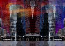 Multiplexe Ansicht vom Potsdamer Platz by Eckhard Röder