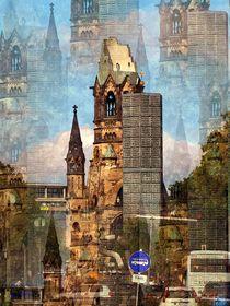Berlin Berlin - Gedächtniskirche by Eckhard Röder