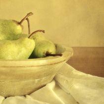 Sunny Pears in a bowl von Priska Wettstein