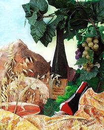 Brotzeit im Weinberg von Gräfin Vroni von Burgstein