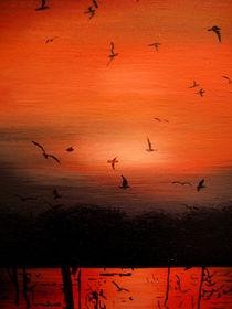 Sonnenuntergang by Gräfin Vroni von Burgstein