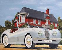 Jaguar XK 120 von Gräfin Vroni von Burgstein