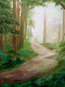 Morgenspaziergang by Gräfin Vroni von Burgstein