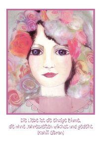 Liebe und Rosen von barbara schreiber