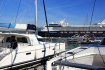 Im Yachthafen von Ajaccio von Anja Abel