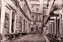 Lautlos kommt die Nacht in Wien by Anja Abel