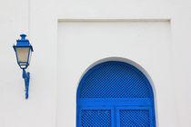 Blau und Weiß von Anja Abel