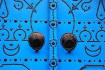 Das blaue Gesicht by Anja Abel