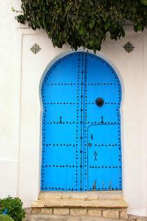 Tür ohne Klinke by Anja Abel