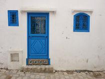 Die kleine blaue Tür by Anja Abel