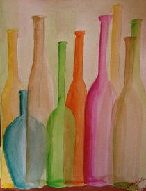 Flaschensammlung by Daliah Sölkner