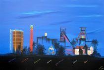 Ruhrgebietsskyline 2010 von Daliah Sölkner