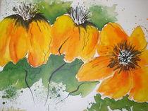 Drei Gelbe Blumen von netti