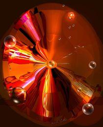 Farbenreiche Vase by Gabriele Nedilka