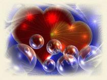 Liebe,Herzen eingehüllt und geschützt von Gabriele Nedilka