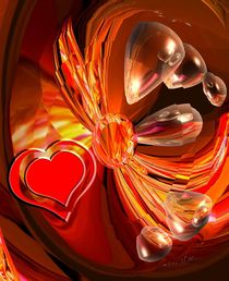 Herz pulsiert von Gabriele Nedilka