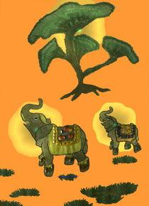 Elefant-Glücksbringer 1 by Gabriele Nedilka