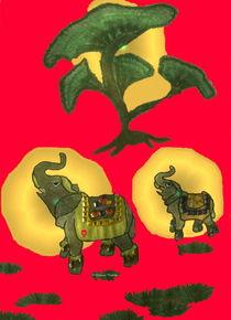 Elefant-Glücksbringer 3 von Gabriele Nedilka