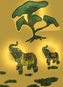 Elefant-Glücksbringer2 von Gabriele Nedilka