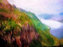Berg,Natur, Wasser von Gabriele Nedilka