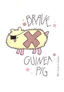 Brave Guinea Pig von Michaela von Aichberger