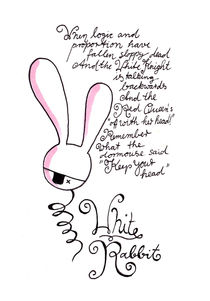 Brave Rabbit von Michaela von Aichberger