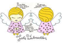 Engelchen Karte  von Michaela von Aichberger