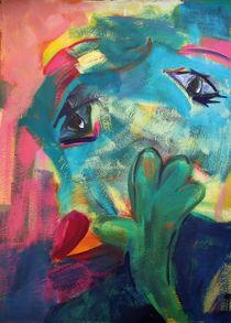 Grüner Kopf von Annette Kunow