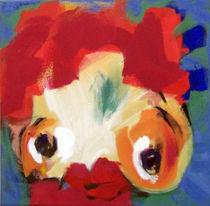 Roter Lockenkopf von Annette Kunow