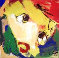 Gelber Kopf I von Annette Kunow