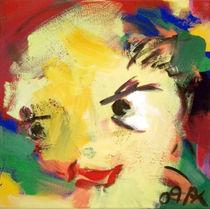 Gelber Kopf II von Annette Kunow