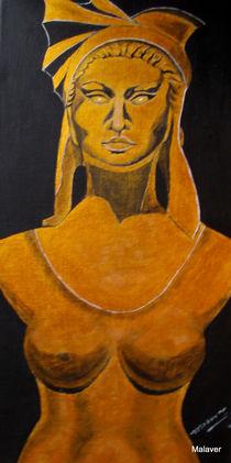 Goldene Schönheit von Maria Abt