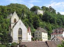 Burg und Stadt Ferrette by Thomas Peter