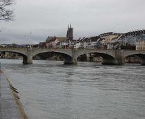 Basel Rheinbrücke von Thomas Peter