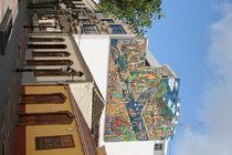FASSADENMALEREI IN LOS LLANOS DE ARIDANE by Harald Wosihnoj