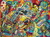 Farb Collage (Reste KOLLAGE) von Heinz-Friedrich Kaiser
