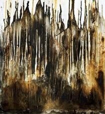 Wachsbrand (Mischtechnik, Objekt-Kunst) von Heinz-Friedrich Kaiser
