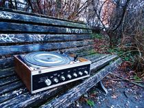 old record player by Sabine Howorka