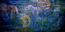 Moonhorse Acryl Spachteltechnik von A.Ralph Temmel