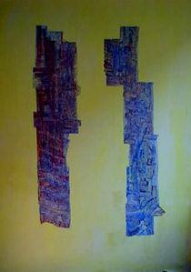armreich acryl spachtelbild von A.Ralph Temmel