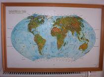Ein Reliefbild der Erde by Ottmar Gebhardt