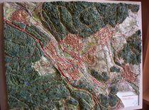 Niedernhausen Taunus Reliefbild maßstabgerecht von Ottmar Gebhardt